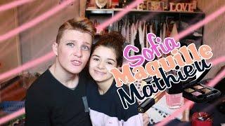 getlinkyoutube.com-Sofia maquille Mathieu | OH MY GOD! ♡
