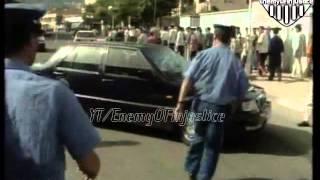 الجزائر - مظاهرات تتبع مقتل معطوب الوناس 1998