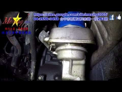 How to Replace the Oil Filter Cooler Gasket On A HYUNDAI TUCSON 2.0D 2006~2010 D4EA F4A42