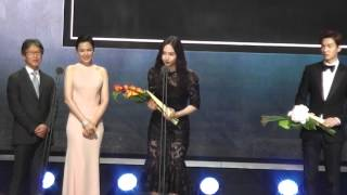getlinkyoutube.com-150526 Fx Krystal & Park Shin hye & Seolhyun @ Baeksang Arts Awards