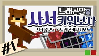 getlinkyoutube.com-드래곤알을 사서 키워보자! 스타몰모드+드래곤키우기모드 1편 - 마인크래프트 Minecraft [양띵TV삼식]