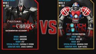 getlinkyoutube.com-Real Steel WRB Cardinal Chaos VS Touchdown NEW