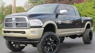 getlinkyoutube.com-2011 Dodge Ram 2500 MEGA CAB LARAMIE LONGHORN LIFTED CUMMINS SOLD!!!