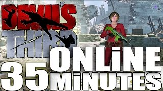 Devil´s Third / 35 Minutes *ONLINE Gameplay* + Character customization