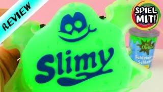 Slimy Vergleich | Ekliger grüner Glibber und Schleim im Test | Elastisch, klebrig, glibberig?