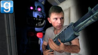 getlinkyoutube.com-Nightmare Bonnie VS Security Guard (Gmod Sandbox)