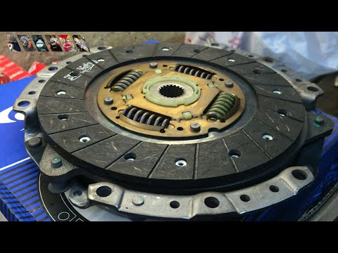 Замена сцепления | Сlutch replacement