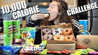 getlinkyoutube.com-10k Calorie Challenge | Girl vs Food Epic Cheat Day