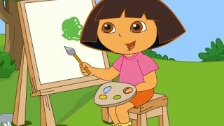 getlinkyoutube.com-دورا الصغيرة ( فرشاة رسم دورا السحرية ) العاب كرتون للاطفال كاملة