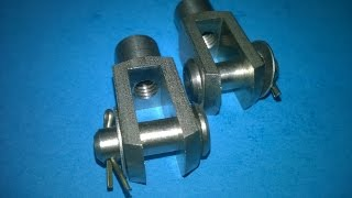 M6 Stainless Steel Linkage Clevis Yokes