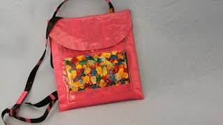 How to Make a Duct Tape iPad Backpack | Sophie's World