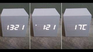 getlinkyoutube.com-My Cool LED Alarm Clock + Thermometer