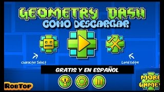 getlinkyoutube.com-Como Descargar Geometry Dash Para pc Full