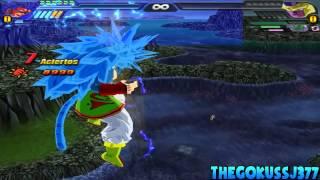 getlinkyoutube.com-Goku SSJ,SSJ2,SSJ3,SSJ4,SSJ5 And SSJ6,SSJ7! Budokai Tenkaichi 3 Mod!~TheGokussj377【HD】