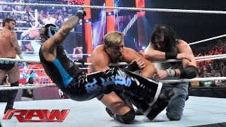 getlinkyoutube.com-CM Punk, Daniel Bryan, The Rhodes Brothers & The Usos vs. The Shield & The Wyatt Family - 12-Man Tag