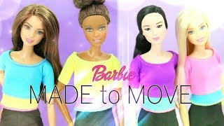 Doll Review: Barbie Made to Move