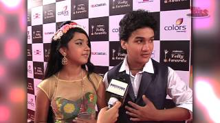 getlinkyoutube.com-Faisal and Roshni at Indian Telly Awards 2014