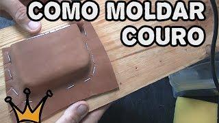 getlinkyoutube.com-Como Moldar Couro - Trabalho em Couro