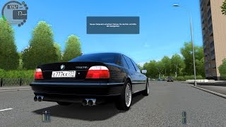 getlinkyoutube.com-City Car Driving 1.4.0 BMW 750iL E38 [1080P]