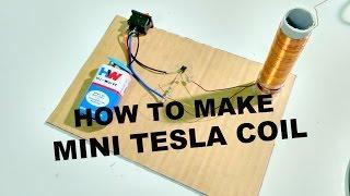 getlinkyoutube.com-How to make a mini Tesla Coil