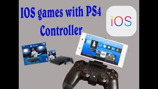 getlinkyoutube.com-How to use PS4 controller with iPad or iPhone games: Part 1