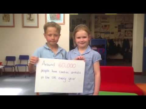 Rackheath Primary School places AED under Defibs Save Lives School Project