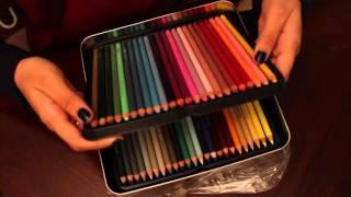 getlinkyoutube.com-Prismacolor Premier 132  Colored Pencils Unboxing