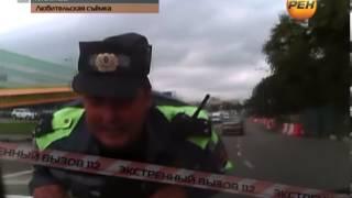 getlinkyoutube.com-Прокатил автоинспектора на капоте.Экстренный вызов 112. РЕН ТВ