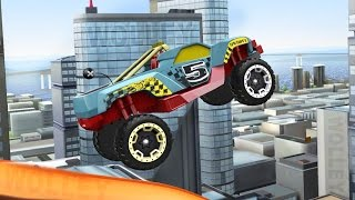 getlinkyoutube.com-Hot Wheels: Race Off - Cars Racing Videos - Stunt Race Track Game - Racing Cars For Kids Games