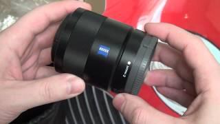 getlinkyoutube.com-Sony Carl Zeiss Sonnar T* E 24mm F1.8 (SEL24F18Z) Unboxing