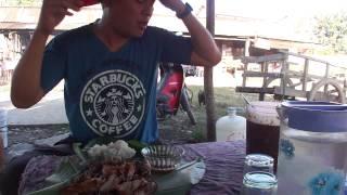 getlinkyoutube.com-กินเป็ด 1 ตัว อร่อยเวอร์(eat duck grill)
