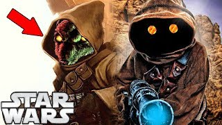 Jawa Faces Revealed - Star Wars Explained