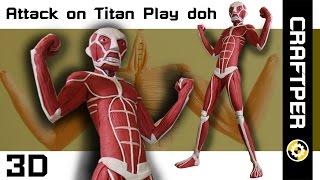 getlinkyoutube.com-Attack on Titan : Live Action (ผ่าพิภพไททัน) ปั้นดินน้ำมันให้เป็นไททัน