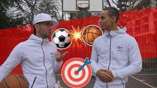 BASKET VS FOOT ! QUI EST LE PLUS PRÉCIS ? feat. COACH SÉAN GARNIER