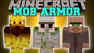 getlinkyoutube.com-Minecraft: MOB ARMOR (TURN INTO MOBS AND GAIN THEIR ABILITIES!) Mod Showcase