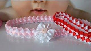 diadema para bebe paso a paso