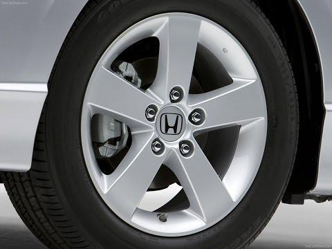 Honda Civic 4d замена задних тормозных колодок