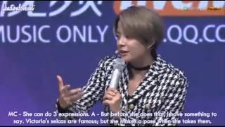 getlinkyoutube.com-[ENG SUB] 150930 Tencent K Pop Live f(x) Q&A