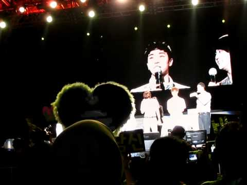 Yo Seob & Gi Kwang - Speaking Bahasa Malaysia (2/2) @ Malaysia 1st Fans Meet - 01072011
