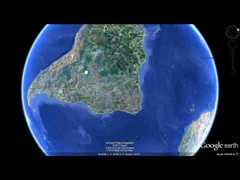 Strange Sounds recorded on Google Earth Map