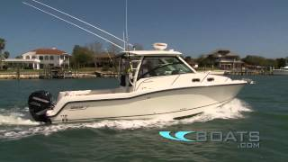 getlinkyoutube.com-2012 Boston Whaler 315 Conquest Boat Review / Performance Test