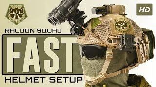 getlinkyoutube.com-FAST Helmet Setup - Racoon Squad Airsoft