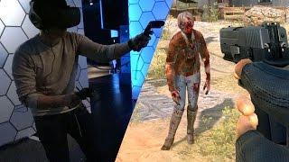 getlinkyoutube.com-Hands-On: VR Zombie Shooting in Arizona Sunshine