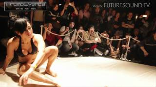 getlinkyoutube.com-JAPAN Slow Motion BIKINI OIL GIRL WRESTLING - HD