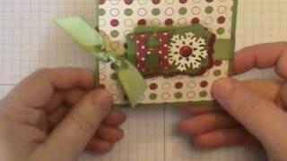 getlinkyoutube.com-Ho Ho Ho Gift Card Holder