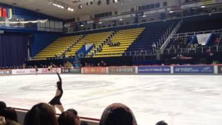2013 Golden Spin of Zagreb FS Dress Rehearsal - YUNA KIM