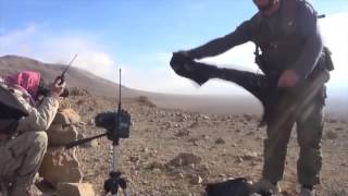 getlinkyoutube.com-Syria, Damascus, Dumayr Desert, Syrian Arab Army Ambush ISIS @ Two Locations.