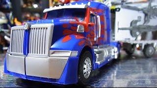 getlinkyoutube.com-よみがえるTRANSFORMERS バトルコマンドオプテイマスプライム Optimus Prime
