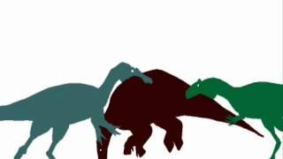 getlinkyoutube.com-ASDC - Neovenator vs Baryonyx