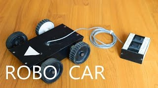 How To Make A Remote Control Car at Home - Very Easy!